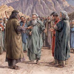 圣经历史的一幕——如果只看着上帝的话
