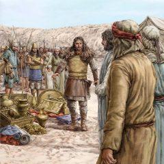 圣经历史的一幕 – 这一切都是上帝赐给的